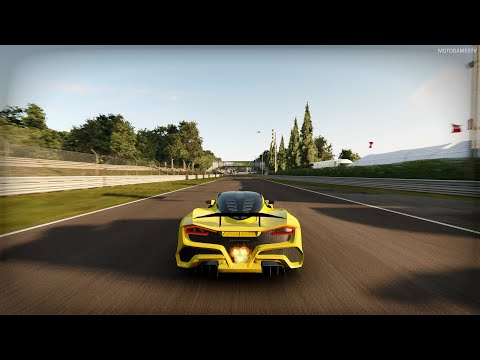 Project CARS 3 – 2020 Hennessey Venom F5 at Monza Gameplay [Style Pack]