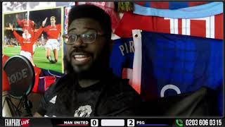 Liverpool fan is GLAD Manchester United lost! Manchester United 0-2 PSG Champions League