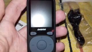 MP3-плеер Digma B3 - Отличный плеер за 1790 Рублей - Обзор
