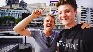 Yacht-Party in Monaco mit Nico Rosberg