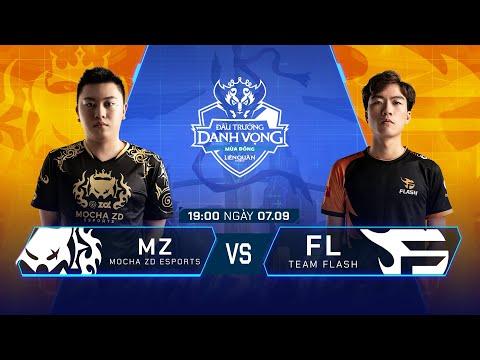 MZ Esports Vs Team Flash   MZ Vs FL [Vòng 10 - 07.09] ĐTDV Mùa Đông 2019