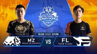 MZ Esports vs Team Flash | MZ vs FL [Vòng 10 - 07.09] ĐTDV Mùa Đông 2019