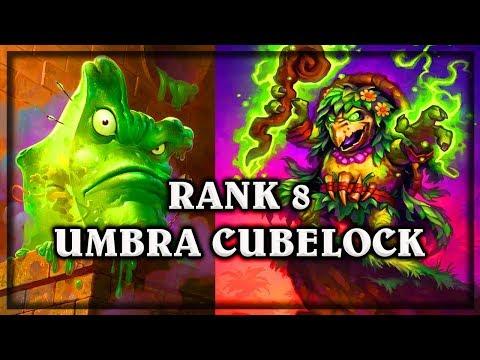 Rank 8 Umbra CubeLock  ~ Kobolds & Catacombs ~  Hearthstone heroes of warcraft
