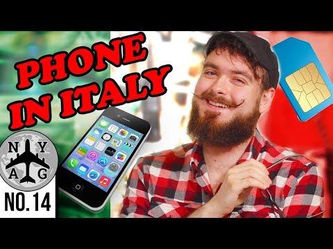 Getting an Italian SIM Card