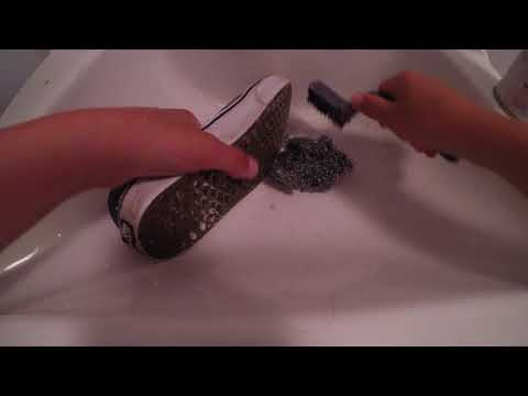 How to clean vans rubber or Nike SB