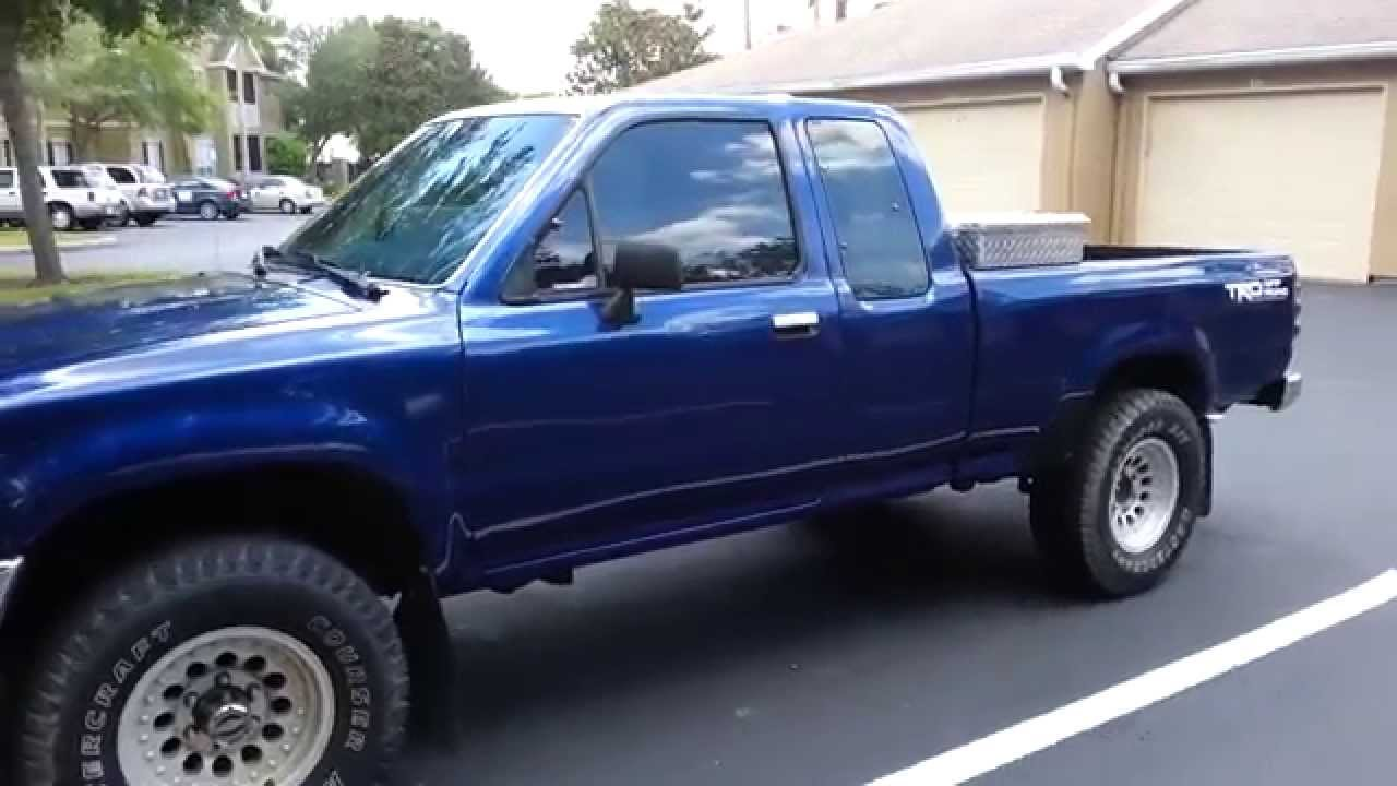 1994 toyota pickup 22re ext cab 4wd restore ii youtube. Black Bedroom Furniture Sets. Home Design Ideas