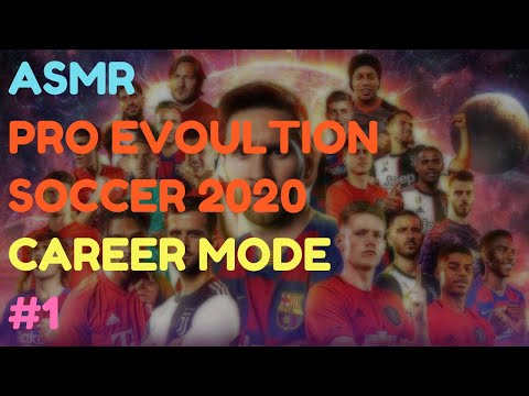 ASMR: Pro Evolution Soccer 2020 - Career Mode - 1 - Maradona To Palace?