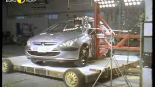 Краш тест Peugeot 307 2001 (E-NCAP)