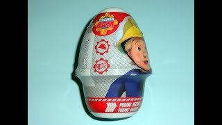 Fireman Sam Surprise Dessert Pudding Opening