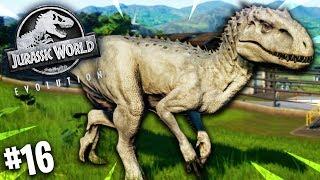 *INDOMINUS REX* JUŻ W NASZYM PARKU! | Jurassic World Evolution #16