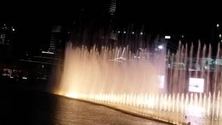 DUBAI FOUNTAIN 2015 December