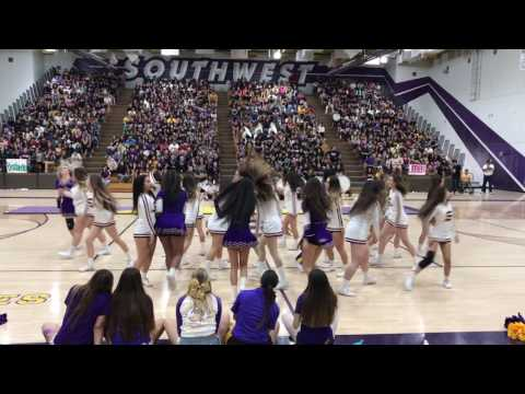 SHS Varsity Cheer Last Assembly 2017