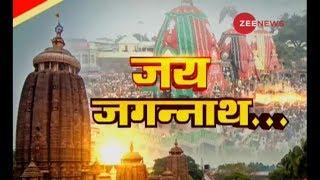 Ahmedabad Union Home Minister performs & 39 Mangala Aarti& 39 at Jagannath Temple