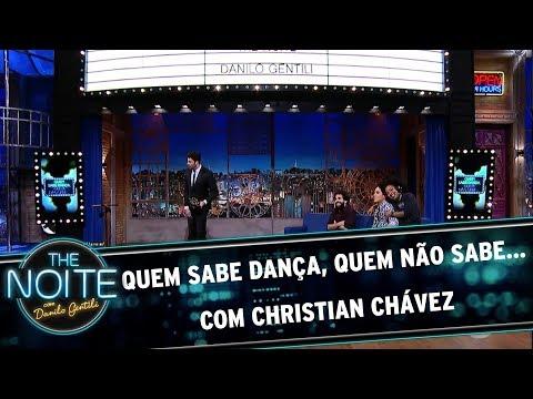 Quem sabe dança, quem não sabe... Com Christian Chávez