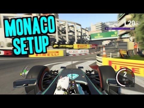 F1 2015 Monaco Setup & Hot lap - 1:12.948