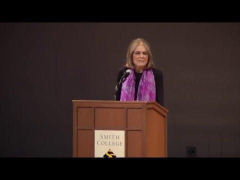 Gloria Steinem '56: Thinking in Public in a Networked World