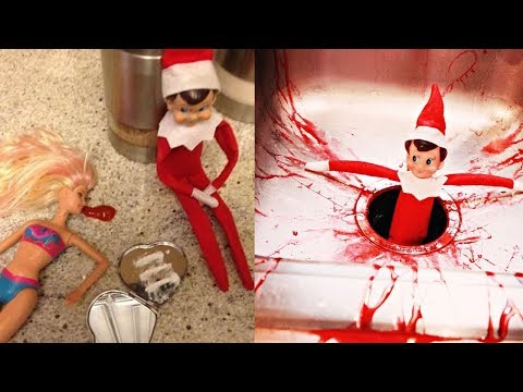 Horrible Elf on the Shelf Ideas!