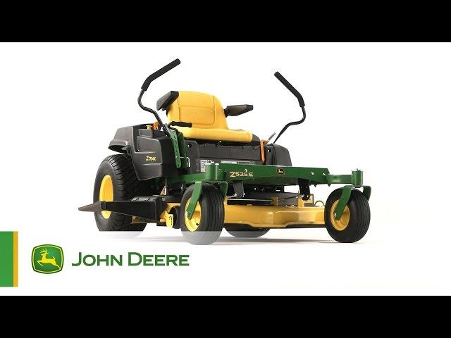 Il Tosaerba a raggio di sterzata zero Z525E John Deere - Solido e robusto!