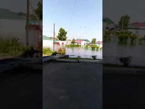 Вода зошла в центр города Тулун