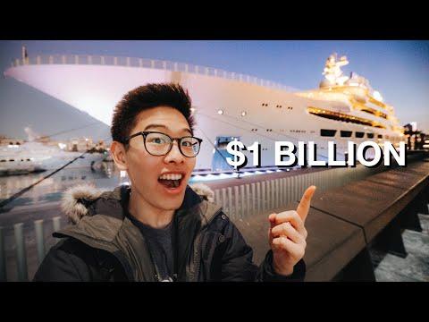 The $1 BILLION DOLLAR SUPER YACHT