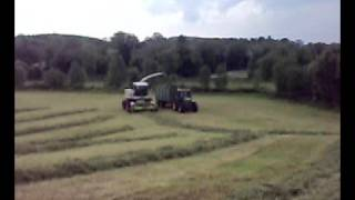 Grass silage class 870 in Brookeborough 2008