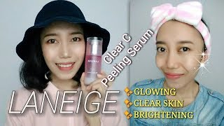Gambar cover RACUUNN SKINCARE SONG HYE KYO BIKIN GLOWING!! [LANEIGE CLEAR C PEELING SERUM REVIEW] Novie Marru