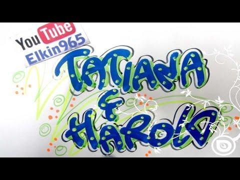 Letra timoteo - nombres decorados Suscriptor - YouTube