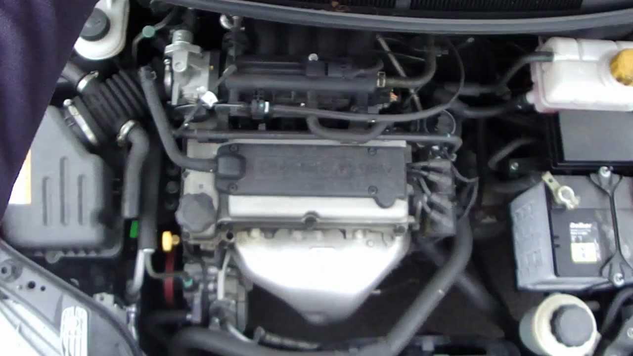двигатель chevrolet aveo 1.2