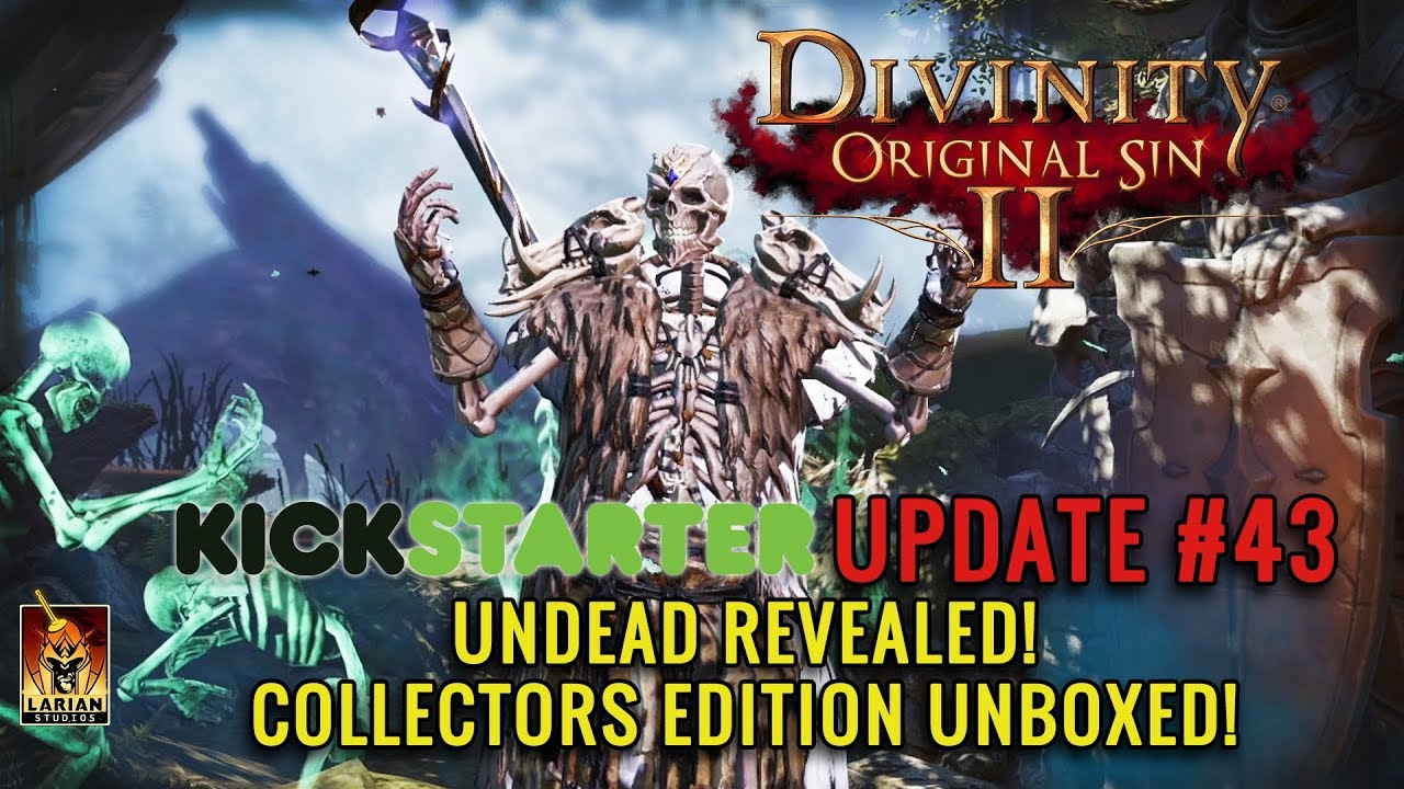 Divinity: Original Sin 2 video reveals playable undead and a 'big
