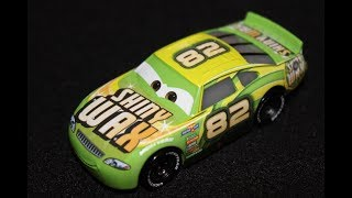 Mattel Disney Cars 3 Darren Leadfoot (Shiny Wax #82) Piston Cup Racer Die-cast