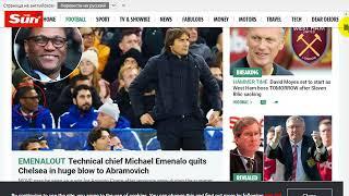 немного новостей о Челси и Вест Хэме 06.11.2017