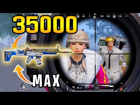 Maxing New SCAR-L For $35000 | PUBG Mobile