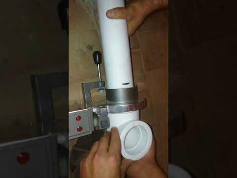 Как паять полипропиленовую трубу 75 диаметра