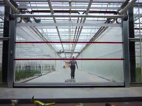Full Vision Transparent Pvc Roll Up Doors Youtube