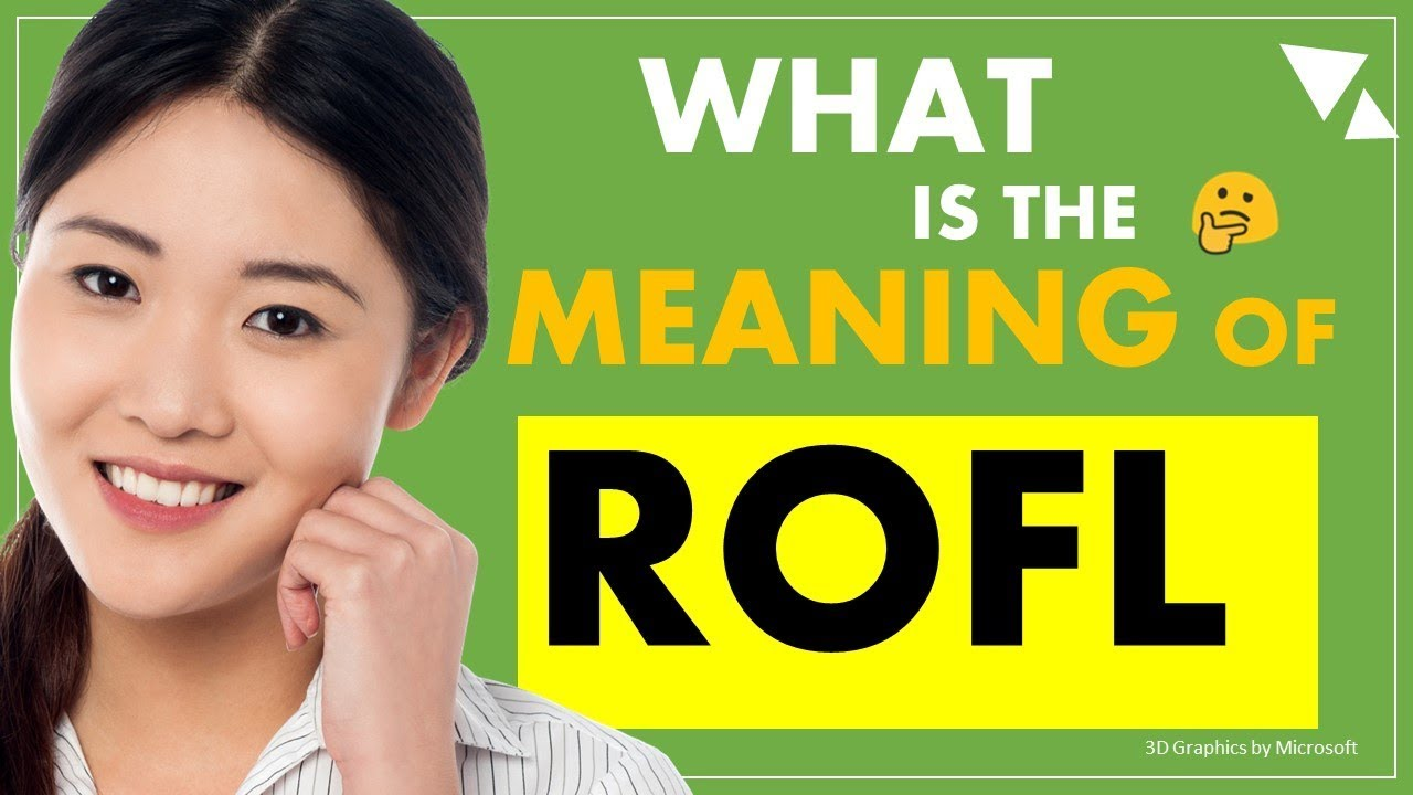 ROFL - what is the meaning of Internet Slang