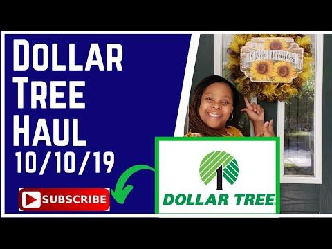 Dollar Tree Haul 10/10/19 Fall Decor