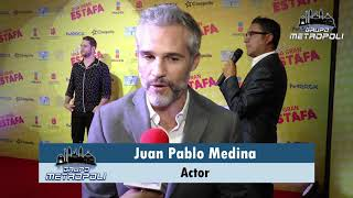 Entrevista Juan Pablo Medina, Casi una gran estafa
