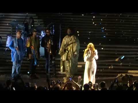 Big God - Florence and the Machine w/Kamasi Washington @ Hollywood Bowl, Los Angeles, CA 9-25-18