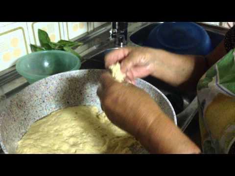 Marietta making homemade Calabrian Zeppole aka Italian Fried Dough