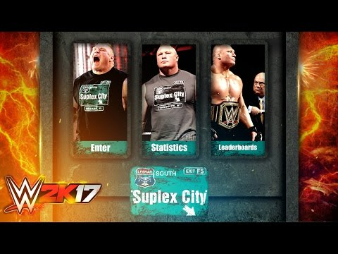 WWE 2K17 PS4/XB1- Suplex City Mode - Epic Gameplay Notion