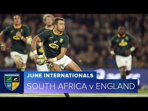 2018 June Test Series:  Second Test – South Africa v England