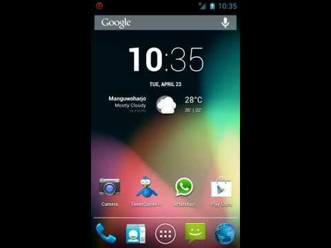 Android 4.2.2 Jelly Bean CM 10.1 on Galaxy W GT-I8150