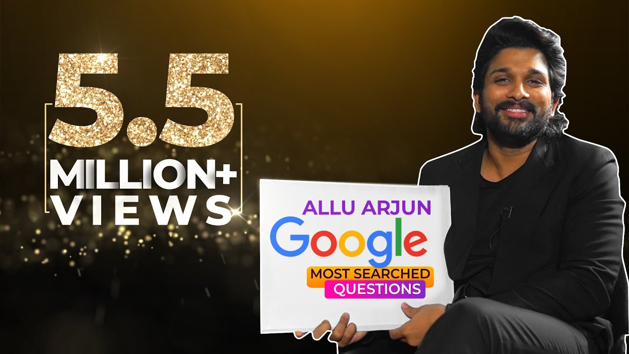 Allu Arjun answers Google's most searched questions in his #SignatureStyle #AlaVaikunthapurramu