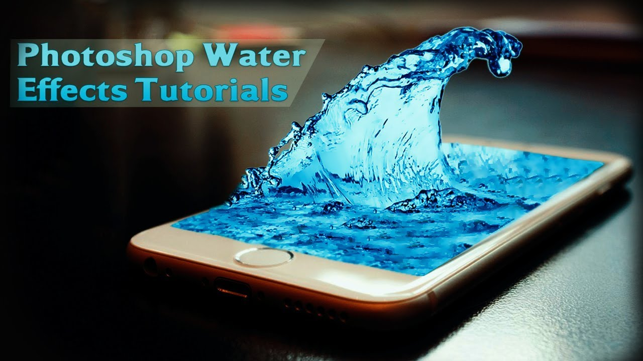How to Make Create Photoshop CC Water Effects | Tutorials ...