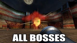 Serious Sam: The Second Encounter - All Bosses (With Cutscenes) HD 1080p60 PC