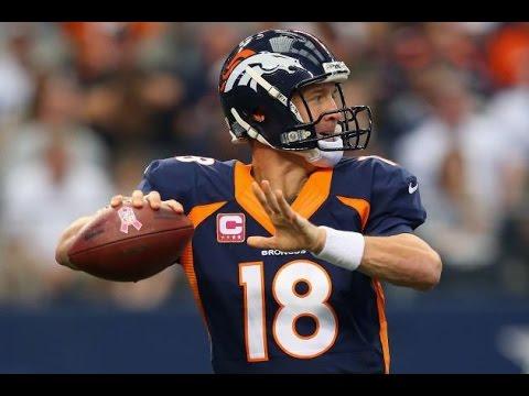 Peyton Manning 55 Touchdown Season