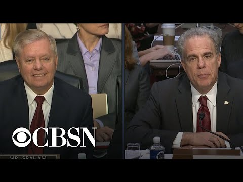 IG report hearing part 4: Lindsey Graham questions Michael Horowitz