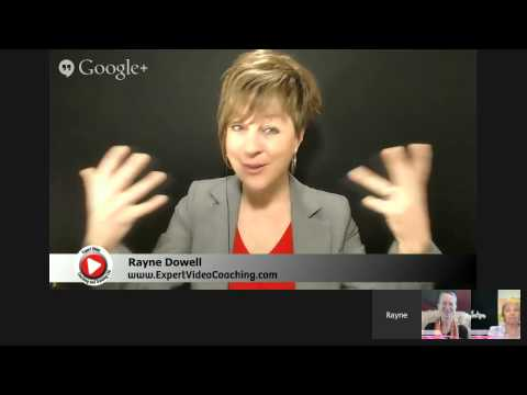 What does it need to develop your video presence online? - with Rayne Dowell