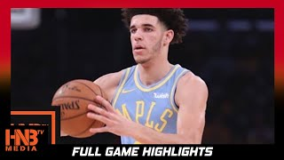 Lonzo  Ball Full Highlights vs Wizards / Week 2 / Lakers vs Wizards / 2017 NBA Season
