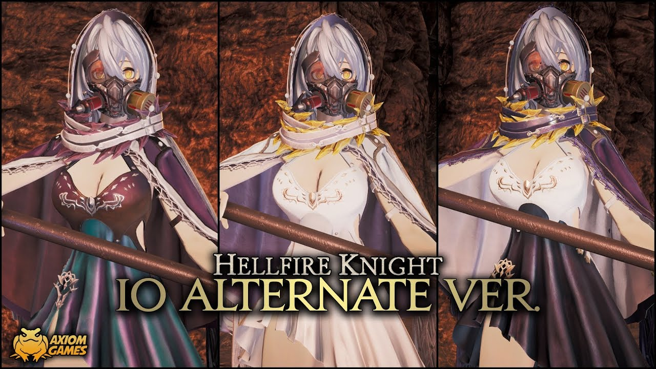 Code Vein Hellfire Knight Io Alternate Ver Outfit Youtube Navigate to where your copy of code vein is. code vein hellfire knight io alternate ver outfit